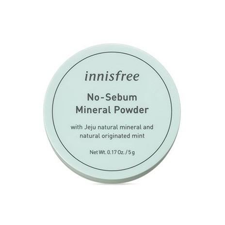 Innisfree 無油無慮 天然薄荷礦物控油蜜粉 5g