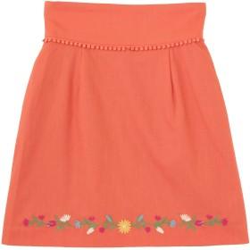 dazzlin フラワーヘム刺繍ミニスカート