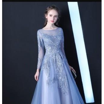 結婚式 ドレス お呼ばれワンピ パーティードレス 披露宴ファッション 服裝 謝恩會 演奏會 発表會 二次會 ロングドレス