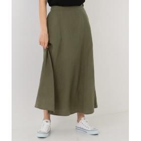 SHARE PARK シェアパーク テンセルリネンAラインロングスカート