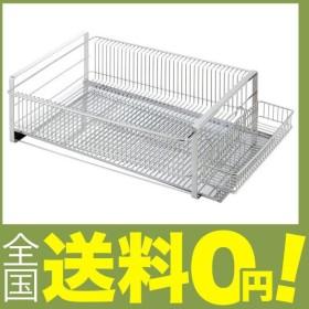 下村企販 水切りラック ワイド 横置き 箸置き付 ステンレス 日本製 35371
