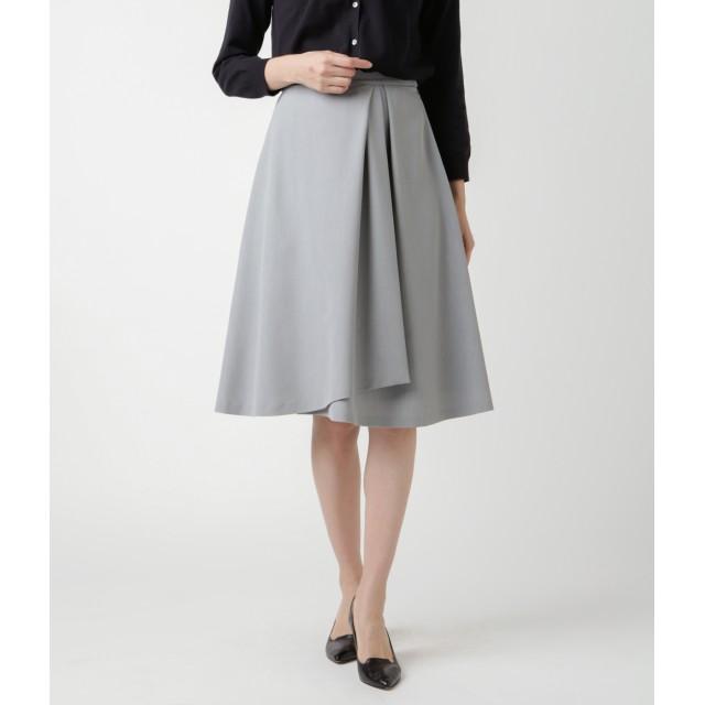NEWYORKER ニューヨーカー ストレッチツイル アシンメトリースカート