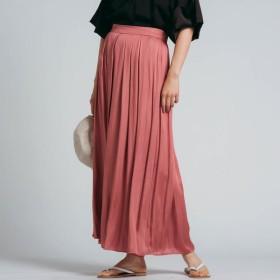 [マルイ]【セール】割繊サテンギャザースカーチョ/メイソングレイ(MAYSON GREY)