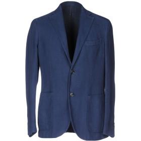 《期間限定セール開催中!》MONTEDORO メンズ テーラードジャケット ブルー 48 コットン 58% / ラミー 42%
