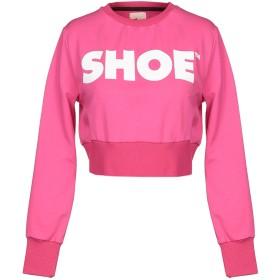《期間限定セール開催中!》SHOESHINE レディース スウェットシャツ フューシャ XS コットン 95% / ポリウレタン 5%