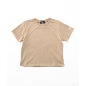 (COMME CA ISM/コムサイズム)ベーシック 半袖Tシャツ/レディース ベージュ