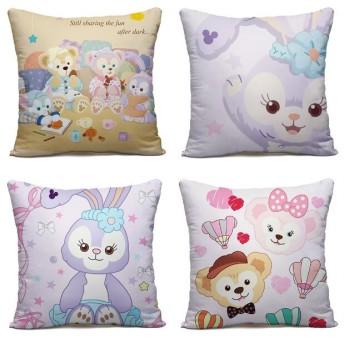 Disney(ディズニー)、 Duffy!shelliemay、抱き枕 車/椅子置き プレゼント ワナワンだきまくら