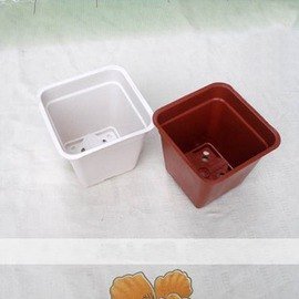 【LB170小方盆】迷你小花盆 育苗盆 方形盆 最低起訂量5個 口徑13.5*高12cm-5101002