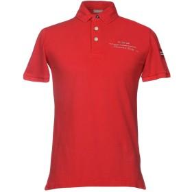 《期間限定 セール開催中》NAPAPIJRI メンズ ポロシャツ レッド M コットン 100%