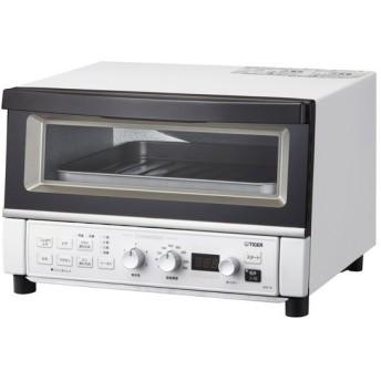TIGER KAT-A130WM マットホワイト やきたて [コンベクションオーブン&トースタ] オーブン・トースター