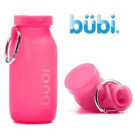 【bubi 美國】布比瓶 輕量水壺 水瓶 運動水壺 附鋁製掛環 415ml 粉紅色 (1813670072000)