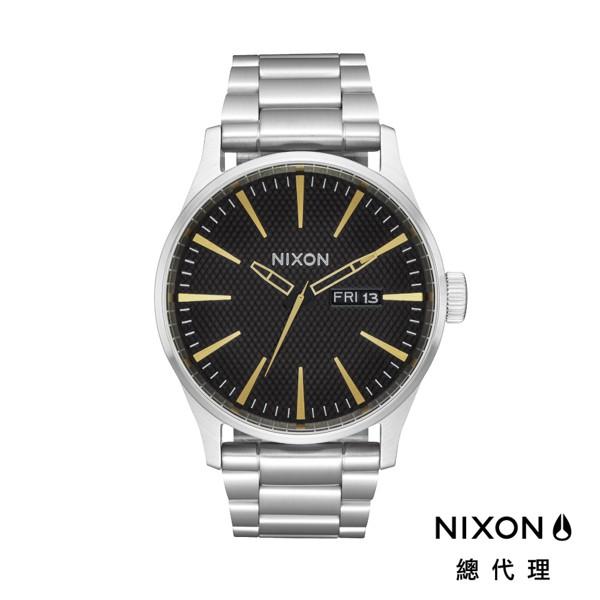 NIXON SENTRY SS 極簡復刻 銀x金 潮人裝備 潮人態度 禮物首選