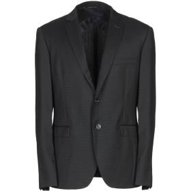 《期間限定セール開催中!》TONELLO メンズ テーラードジャケット ブラック 52 バージンウール 98% / ポリウレタン 2%