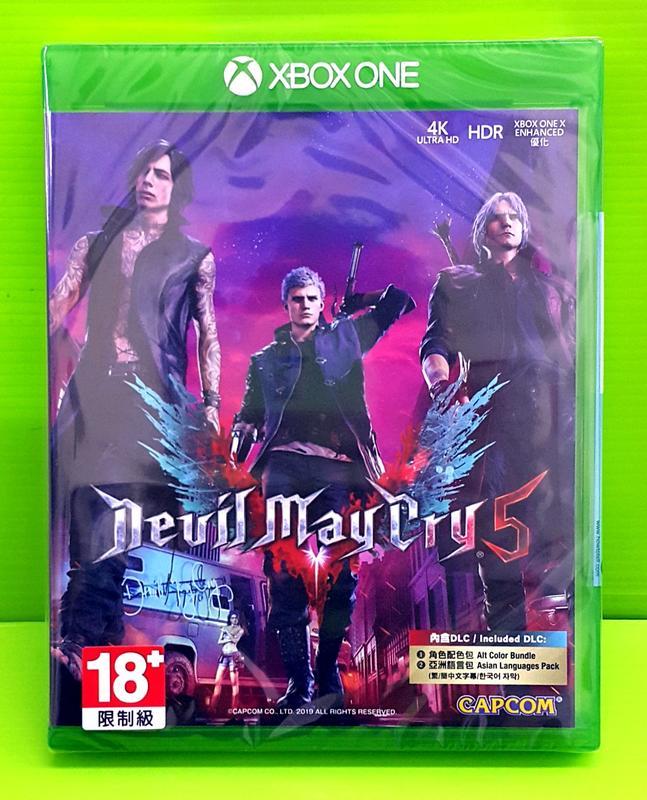[刷卡價] 現貨 Xbox one 惡魔獵人5 中文一般版