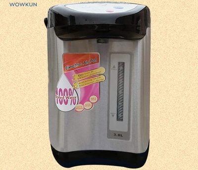 110V220V伏3.8L美國日本加拿大台灣氣壓保溫電熱水瓶溫熱水壺暖壺T 免運直出