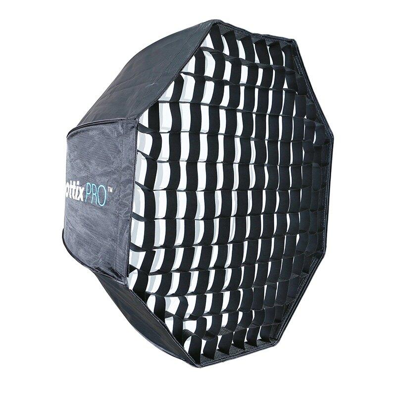 ◎相機專家◎ Phottix Pro 網格 易折疊 無影罩 傘型八角 柔光箱 80cm 公司貨 82484