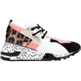 《セール開催中》STEVE MADDEN レディース スニーカー&テニスシューズ(ローカット) コーラル 5.5 革 / 紡績繊維 / ポリウレタン Cliff Sneaker