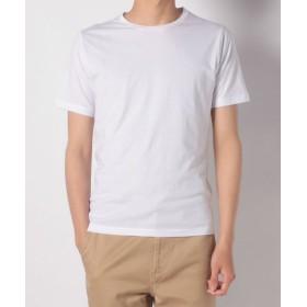 (URBAN RESEARCH OUTLET/アーバンリサーチ アウトレット)【ROSSO】スーピマコットンクルーネックTシャツ/メンズ ホワイト