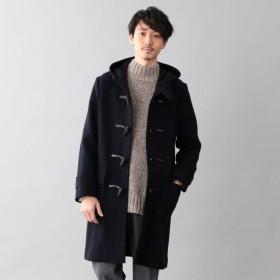 【サンヨー コート メン(SANYO COAT MEN)】 ◆◆<Flat-Seam COAT>ウールジャージーダッフルコート ネイビー