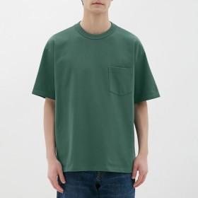 (GU)ヘビーウェイトビッグT(半袖) GREEN XS