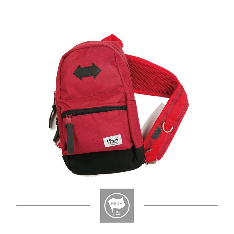 (BR-026)Shoulder Bag 單肩後背包 - 紅