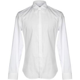 《セール開催中》MAISON MARGIELA メンズ シャツ ホワイト 38 コットン 100%