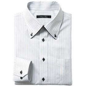 【メンズ】 形態安定デザインYシャツ(ベーシックシルエット) ■カラー:グレー系 ■サイズ:43(裄丈82),39(裄丈80),39(裄丈78)