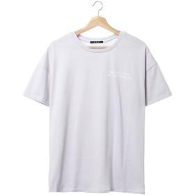 イング INGNI NK天竺バックロゴTシャツ (ラベンダー)
