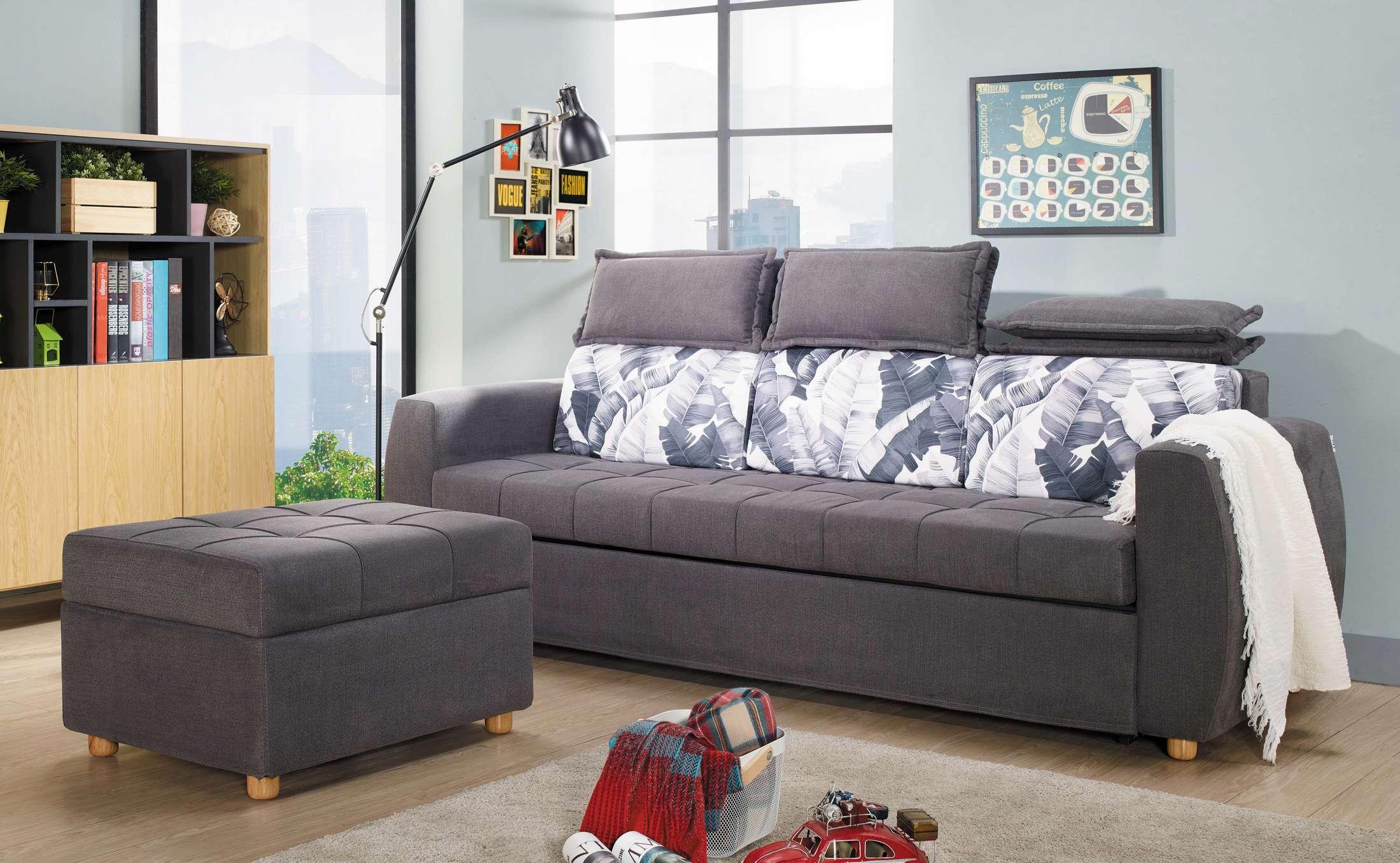 【簡單家具】,S440-1 克洛怡功能沙發床,大台北都會區免運費