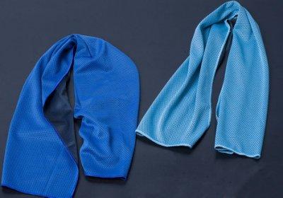 運動必備 健身房跑步 冷感毛巾 運動冰巾 降溫 擦汗 冰涼巾 戶外速幹 魔幻冰感毛巾(ZMJ1)