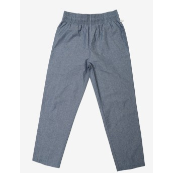 【PLST】【別注】COOKMAN 「Waiter Pants Chambray Blue」パンツ