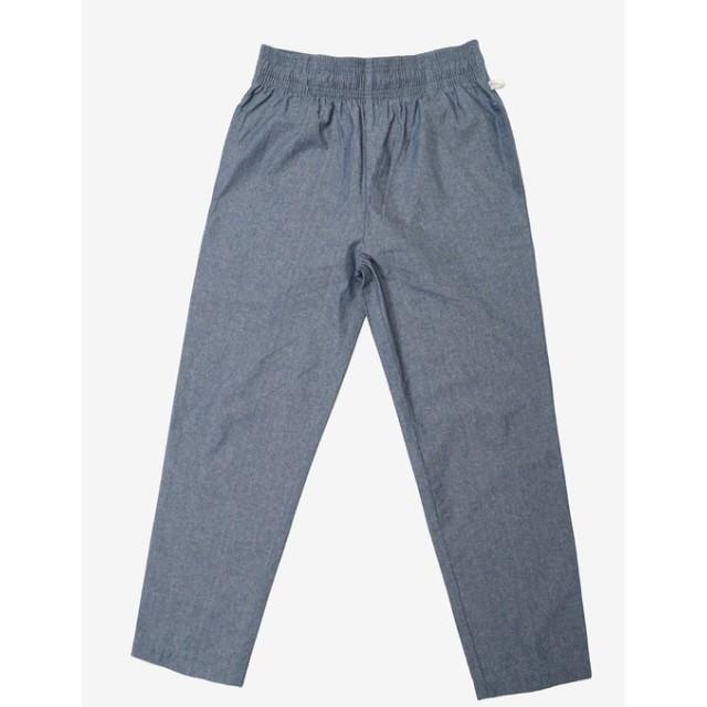 【PLST】【別注】COOKMAN 「Waiter Pants Chambray Blue」パンツ