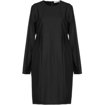 《セール開催中》LIVIANA CONTI レディース ミニワンピース&ドレス ブラック 44 バージンウール 100%