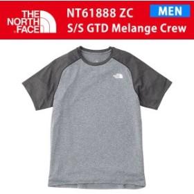 19SS ノースフェイス S/S GTD MELANGE CREW ショートスリーブ GTD メランジクルー  NT61888 カラーZC THE NORTH FACE 正規品