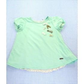 ドルチーナ dolcina Tシャツ 半袖 チュニックタイプ 110cm 緑系 女の子 キムラタン キッズ 子供服 通販 買い取り