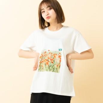 Tシャツ - RETRO GIRL ○RETRO GIRL○ フォトpt半袖Tee