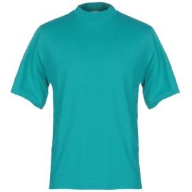 《期間限定 セール開催中》TUDES STUDIO メンズ T シャツ ターコイズブルー XS コットン 100%