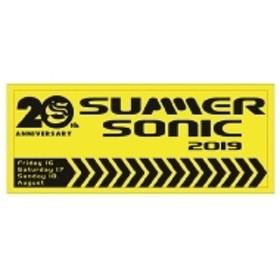 SUMMER SONIC/フェイスタオル グリーン (Neon Yellow)サマソニ19