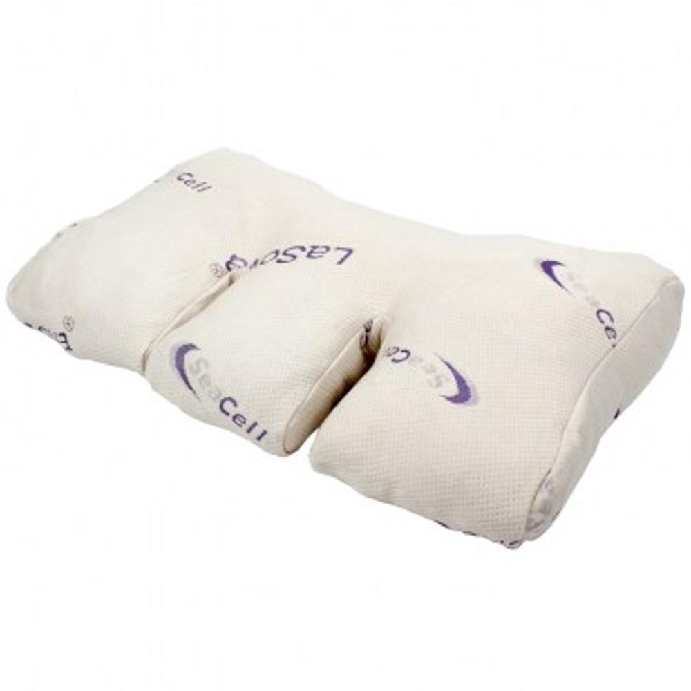 LaSova總裁枕海藻紗枕套7cm