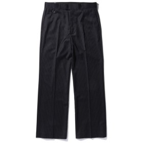 ビームス メン VAPORIZE / Stripe Shoe cut Pants メンズ BLACK_ST L 【BEAMS MEN】