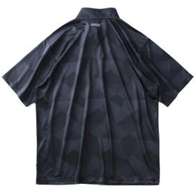 Tシャツ - 大きいサイズの店ビッグエムワン 大きいサイズ メンズ K SWISS 吸汗速乾 ハニカム ドライ ハーフジップ 半袖 Tシャツ + ショートパンツ 上下セット春夏新作 k2957k
