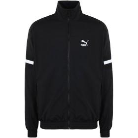 《セール開催中》PUMA メンズ スウェットシャツ ブラック S ポリエステル 95% / ポリウレタン 5% XTG Woven Jacket