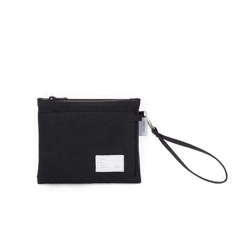 內袋系列-筆袋收納袋(手拿/收納)-墨黑-RMD310BK