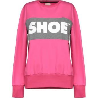 《セール開催中》SHOESHINE レディース スウェットシャツ フューシャ XS コットン 95% / ポリウレタン 5%