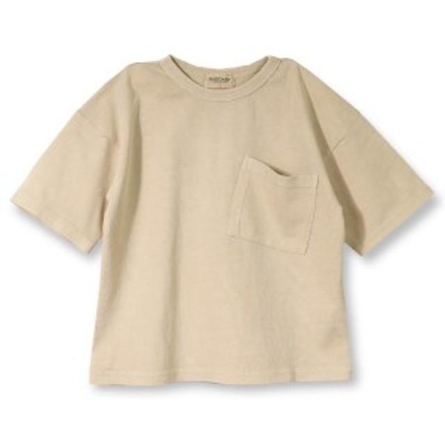 ブランシェス(branshes)/ピグメント加工ポケット半袖Tシャツ