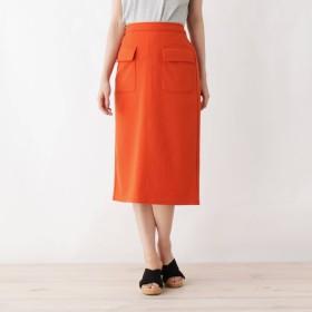 SHOO・LA・RUE シューラルー フラップポケットポンチタイトスカート