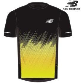 849e0dd01a1c9 ニューバランス NB Hanzo ICE プリントショートスリーブTシャツ AMT81201 メンズ ランニングシャツ 半袖 吸汗速