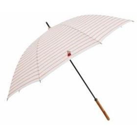 小川(Ogawa) 長傘 晴雨兼用ワンポイント刺繍日傘 手開き 50cm ムーミン リトルミイ ボーダー ピン