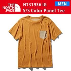 19SS ノースフェイス S/S COLOR PANEL TEE ショートスリーブ カラー パネル NT31936 カラーIG THE NORTH FACE 正規品
