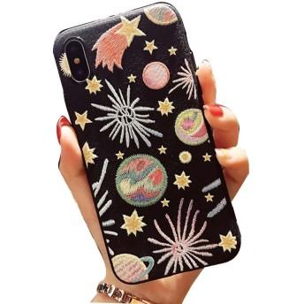 MOMOCASE iphone 7/iphone 8 ケース 人気 iphone 8 ケース 耐衝撃 iPhone 7 Plus ケース iPhone7 スマホケース ぜいたくファッション 可愛い星空